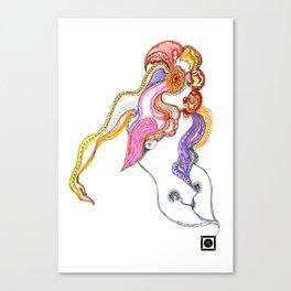 Anthousai - Flowering Nimph Canvas Print