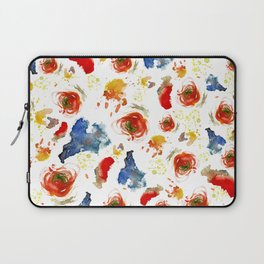 Poppy Paint Laptop Sleeve