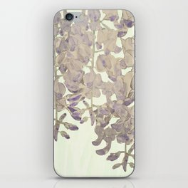 Wisteria - a thing of beauty is a joy forever iPhone Skin