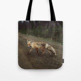 Fox Trot Tote Bag