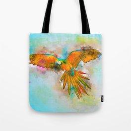 High as a Macaw Tote Bag
