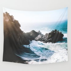 ocean falaise Wall Tapestry