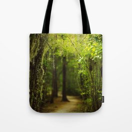 Louisiana Forest, Spanish Moss Tote Bag