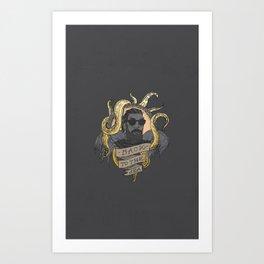 Back to Sea Art Print