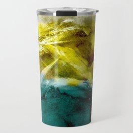 Abstract Mountain Travel Mug
