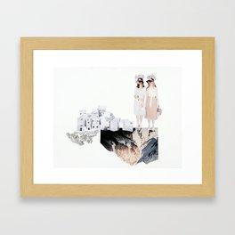 Model Invasion 2 Framed Art Print
