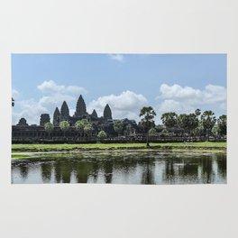 Angkor Wat at High Noon, Cambodia Rug