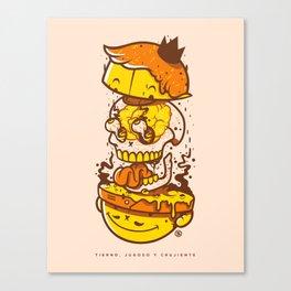 Mr. Ooze Canvas Print