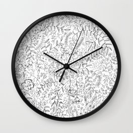 A Spring Mess Wall Clock