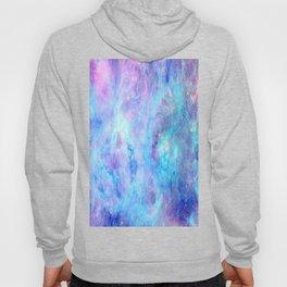 Bright Tarantula Nebula Aqua Lavender Periwinkle Hoody