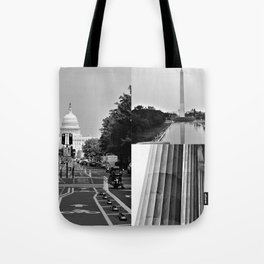 DC Collage Tote Bag