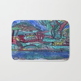 FOREST OF THE DEAD Bath Mat