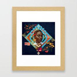 Thrive :: Fine Art Collage Framed Art Print