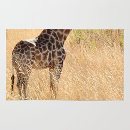 African Giraffe on a Bright Day Rug