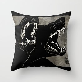 Impulses Throw Pillow