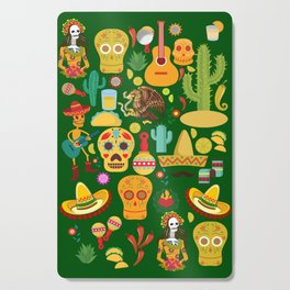 Fiesta Time! Mexican Icons Cutting Board
