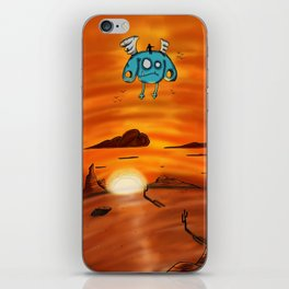 Flying Adventure Pals iPhone Skin
