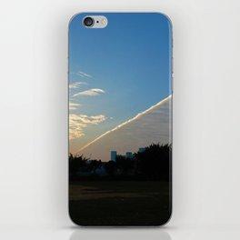 drama in the sky iPhone Skin