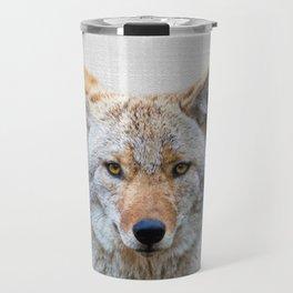Coyote - Colorful Travel Mug