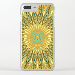 Sun + sky + sand + sea = Summer Clear iPhone Case