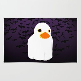 Fuzzy Duck Ghost Rug