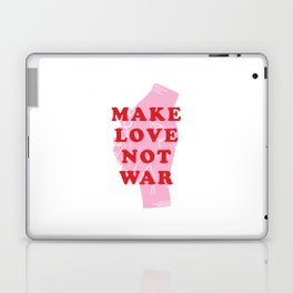 Make Love Not War Laptop & iPad Skin