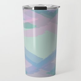 Double Mint Swooshes Travel Mug