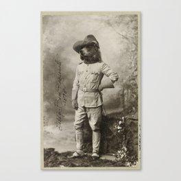 Teddy Bear Roosevelt Canvas Print