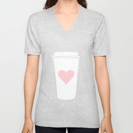 Ode To Coffee Unisex V-Neck
