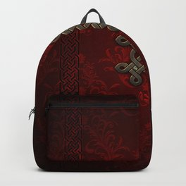 Decorative celtic knot Backpack