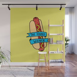 The Happy Wiener Wall Mural