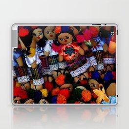 colorful dolls Laptop & iPad Skin