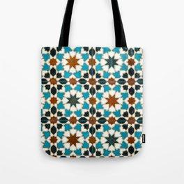 Moorish tiles Tote Bag