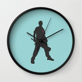 Shaun with red on him Wall Clock