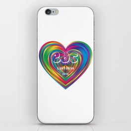 Electric Daisy Carnival Heart iPhone Skin