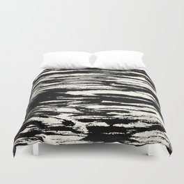 Brush Stripe 2 Duvet Cover