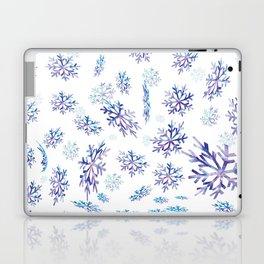 Snowflakes falling Laptop & iPad Skin
