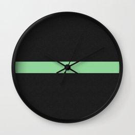 Simple Division - Matt Green On Urban Concrete Geometric Urban Pop Art Wall Clock