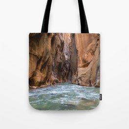 Swept Away (The Narrows, Zion National Park, Utah) Tote Bag