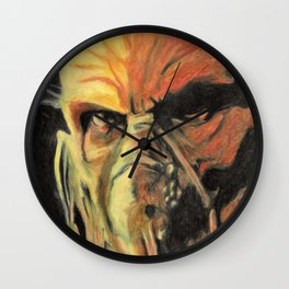 Doctor Satan Wall Clock
