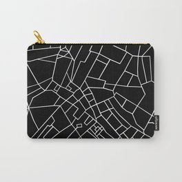 London Road Blocks Black Carry-All Pouch