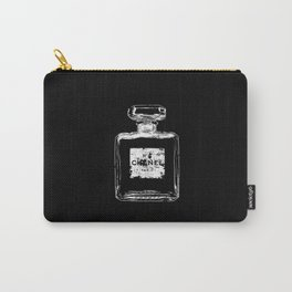 Old perfume, parfum bottle - Eroded label - Nº - Paris - Vintage - Fashion Carry-All Pouch