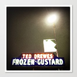 Ted Drewes, St. Louis Canvas Print