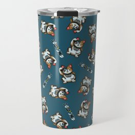 Maneki Neko Marron (Bare Version) Travel Mug