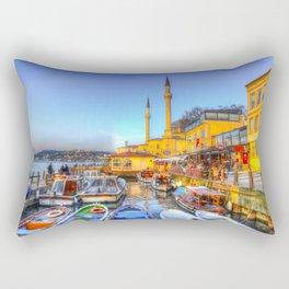 Picturesque Istanbul Rectangular Pillow