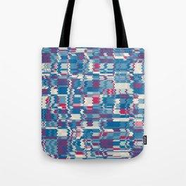 Color Collage - Blue Tote Bag