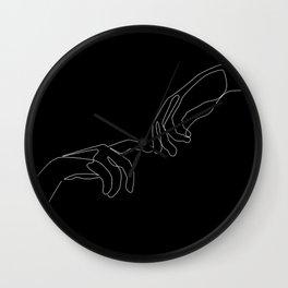 Touch in dark Wall Clock