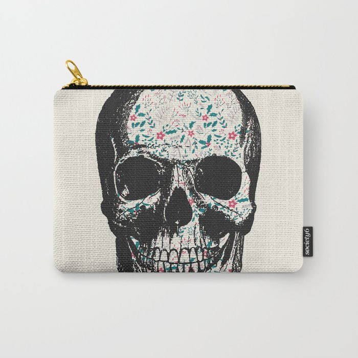 T-Skull Carry-All Pouch