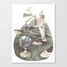 Pure Golf Canvas Print