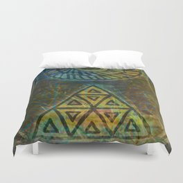 Windows in the Forest - Detail Duvet Cover